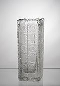 Crystal Square Base Vase