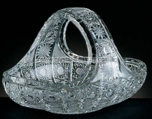 Cut Crystal Basket