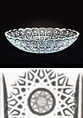 Czech Crystal Fruit Bowl