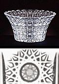 Bohemia Crystal Cut Bowl