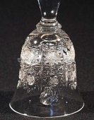 Bohemia Heritage Crystal Cut Bell