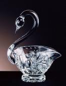 Bohemia Crystal Swan Bowl