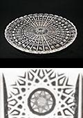 Large Bohemia Crystal Plate