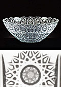 Bohemian Lead Crystal Bowl