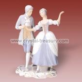 Couple dancing-rococo