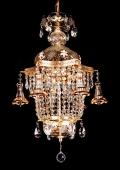 2 bulb chandelier