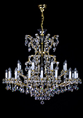 Maria Theresa Chandelier 25 bulbs