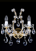 Maria Theresa Crystal Wall Sconce