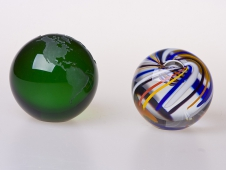 Paperweight - Green Globe