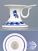 Short Porcelain Candleholder