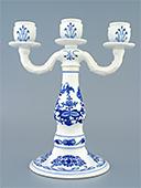 3 Arms Porcelain Candlestick