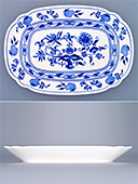 Blue Onion Porcelain Bowl