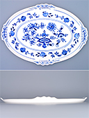 Blue Onion Porcelain Oval Tray