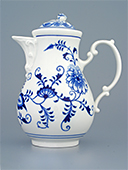 Blue Onion Porcelain Coffee Pot
