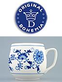 Squab Zwiebelmuster Porcelain Mug