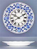 Zwiebelmuster Porcelain Wall Clock
