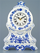 Blue Onion Fireplace clock