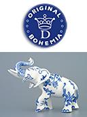Porcelain Elephant II.