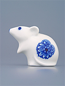 Porcelain Mouse Zwiebelmuster