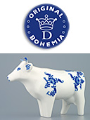 Porcelain Standing Cow