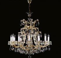 Maria Theresa Chandelier 13 bulbs