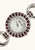 Czech Garnet Wristwatch